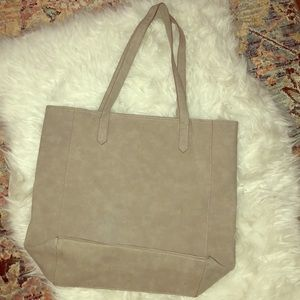 Grey Old Navy tote bag